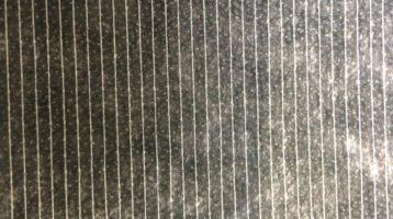Coated stitching fabric (white, black)